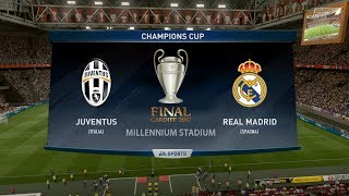 JUVENTUS VS REAL MADRID |CHAMPIONS LEAGUE FINAL 2017| 3.06.2017 - FIFA 17 Predicts - Pirelli7