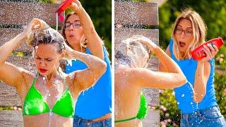 FUNNY SUMMER DIY PRANKS! || Best DIY Pranks on Friends & Family by 123 GO!