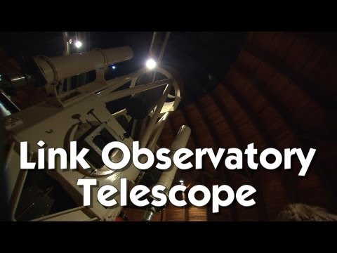A Look Through the Goethe-Link Observatory's Giant Telescope!
