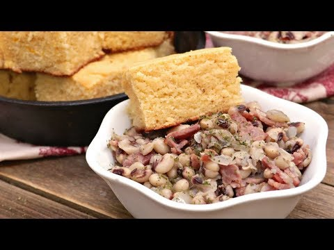 Southern Black Eyed Peas w/ Bacon