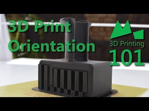 The Best Way to Orient your 3D Prints - 3D Printing 101 - 2015