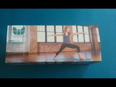 Yoga Mat Review--Natural Fitness Warrior