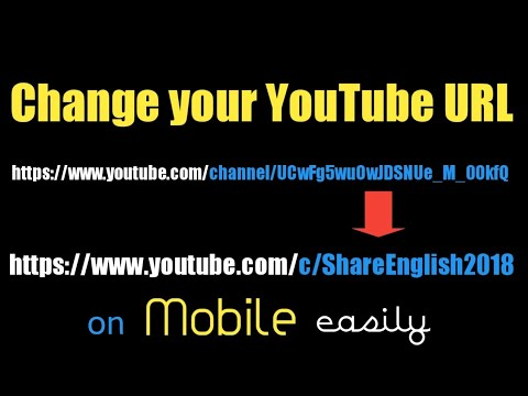 Change Your YouTube URL 2018 | Change YouTube Channel URL 2018 | Get a YouTube Custom URL 2018