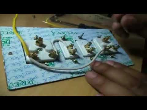 how to make a two socket and two switch extension  board live tutorial
