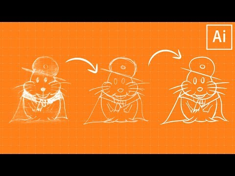 Learn to Sketch & Ink Artwork in Illustrator CC!
