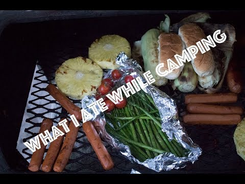 The Vlog Where We Go Camping: What I Eat VEGAN