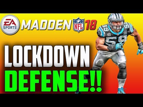 ONE OF THE BEST LOCKDOWN DEFENSES IN MADDEN 18!!!