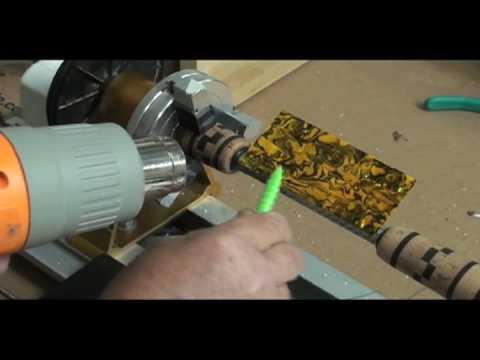 Abalone Veneer Inlays - Heat Gun Method