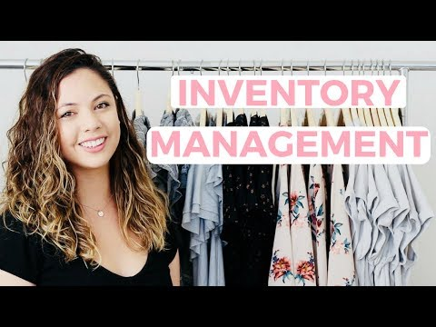 How to Keep Track of Your Inventory | Monika Rose, Online Boutique