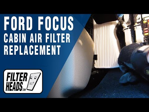 How to Replace Cabin Air Filter 2013 Ford Focus