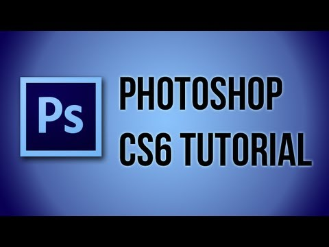 Photoshop CS6 Tutorial - Gradient Tool
