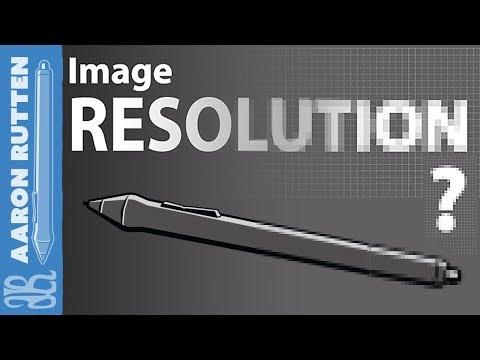 What Is Image RESOLUTION? - Digital Art Tutorial