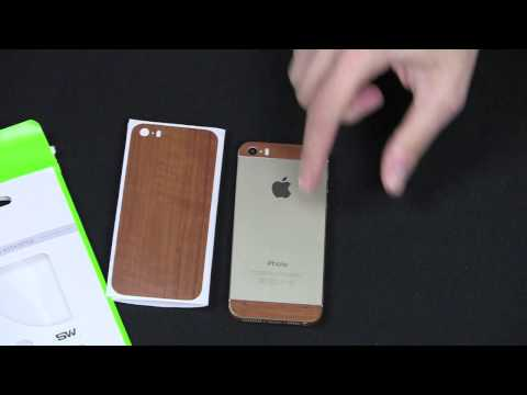 Slickwraps iPhone 5S Wood Series Review