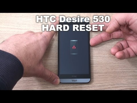 HTC Desire 530 hard reset