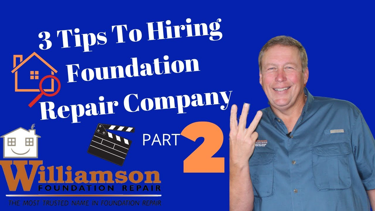 Before You Hire A Foundation Repair Contractor