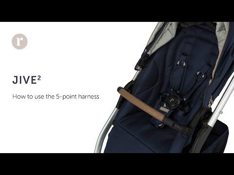 FAQ. How do you use the 5-point harness? Redsbaby JIVE² / METRO² Prams.