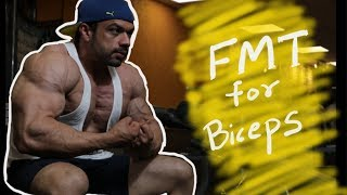 Worst Exercise for Biceps. FMT concept