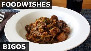 Download Bigos - Polish Hunter's Stew Recipe Video