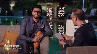 Café Shots | Quickie Round with Ranveer Singh | Starry Nights 2.OH!