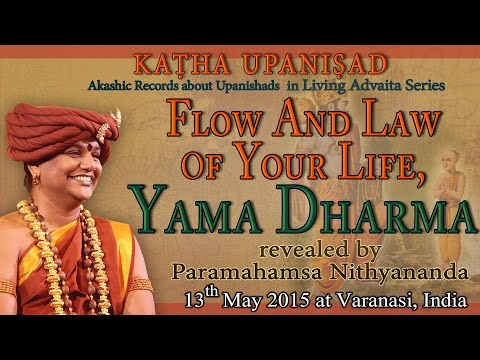 Flow And Law Of Your Life, Yama Dharma