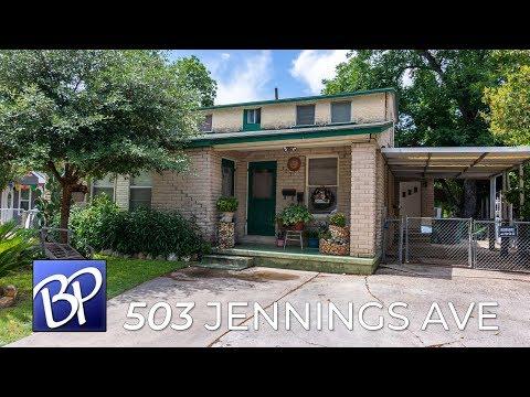 For Sale: 503 Jennings Ave, San Antonio, Texas 78225