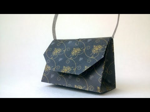 Origami Paper  Bag - Easy Origami Tutorial