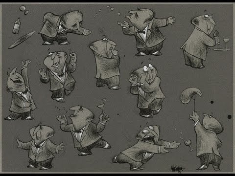 Character Design for Animation Class with Nate Wragg