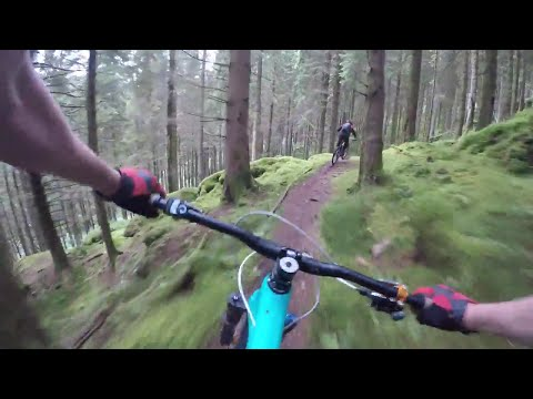 The Cobbler - mtb - Scotland - gopro karma grip
