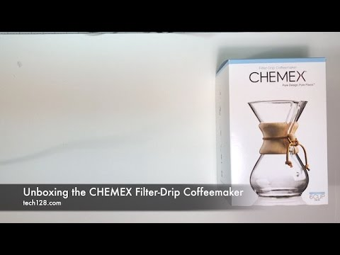 Unboxing the CHEMEX Filter-Drip Coffeemaker