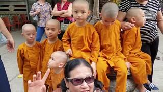 5 Chú Tiểu | CẢm ĐỘng NhỮng GiÂy PhÚt CuỐi CÙng TrƯỚc Khi Chia Tay ChÙa PhẬt TrẮng Nha Trang..!!