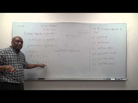 Finding the GCD of two numbers using Euclidean Algorithm - Part 1