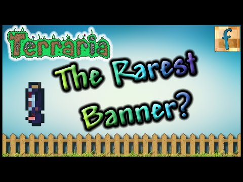 The Rarest Banner in Terraria 1.3