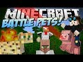 Minecraft Battle Pets Aggressive Pigs Angry Ocelots More Mod