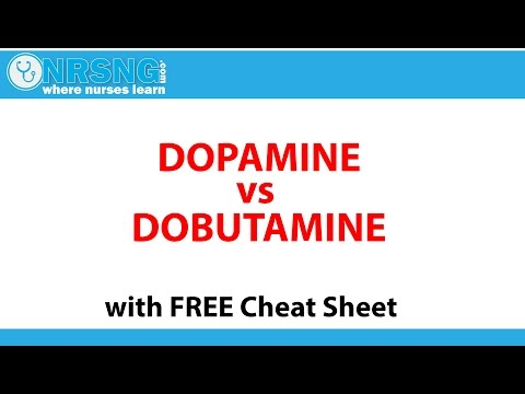 Dopamine vs Dobutamine   MOA, Pharmacology, Vasopressor, Inotrope
