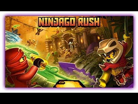 Ninjago - Ninjago Rush - Ninjago Games