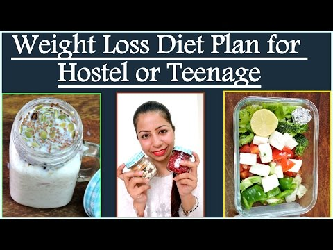 Weight Loss Diet Plan for Hostel Girls or Teenage | Low Budget Diet Plan for Hostelers