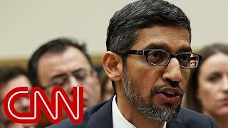 Congress grills Google CEO on bias and data collection