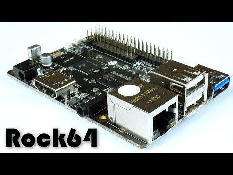 La ROCK64 è qui!!! - Unboxing, caratteristiche e veloce Burntest