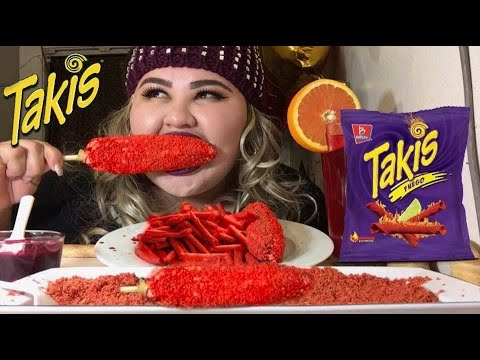 TAKIS Corn on the Cob/ Mukbang @Wendys Eating Show