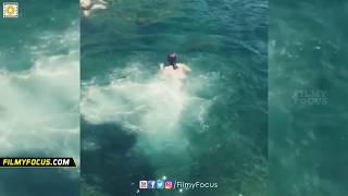 Radhika Apte in Bikini Enjoying Swimming : Exclusive Video - Filmyfocus.com