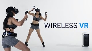 Wireless Virtual Reality CES 2017