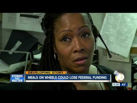 Meals on Wheels could lose federal funding
