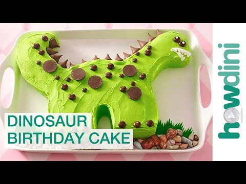 Birthday Cake Ideas: Dinosaur Birthday Cake Decorating Ideas