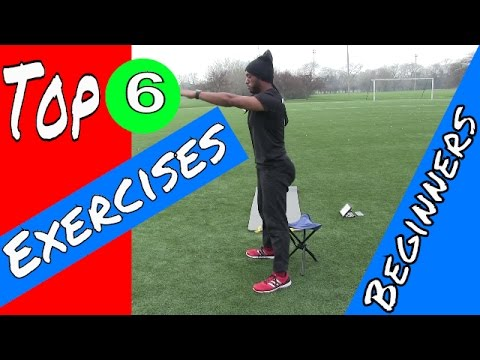 Top 6 Exercises For Overweight Beginners - Body Weight Workout