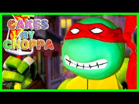 Raphael Cake - Ninja Turtles - TMNT (How To)