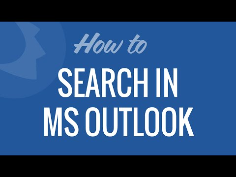 More specific searches in Microsoft Outlook
