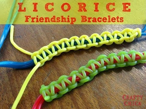HOW TO: Make Licorice Candy Bracelets
