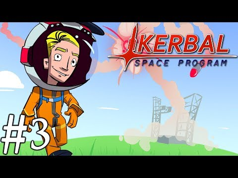 Kerbal Space Program Campaign 2018   Part 3   Manned Mun Orbit