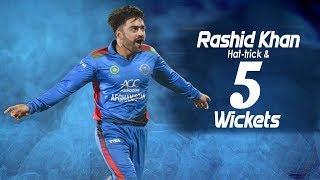 Download 🔥Rashid Khan's Amazing Hat-trick & five wicket haul |3rd T20 |Afghanistan vs Ireland in India 2019 Video