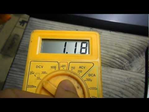 How to check voltage on your computer using multimeter